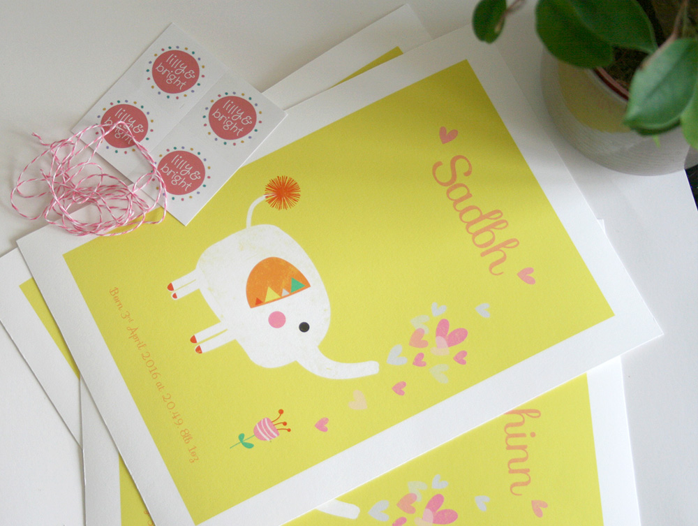 Lilly & Bright Stickers