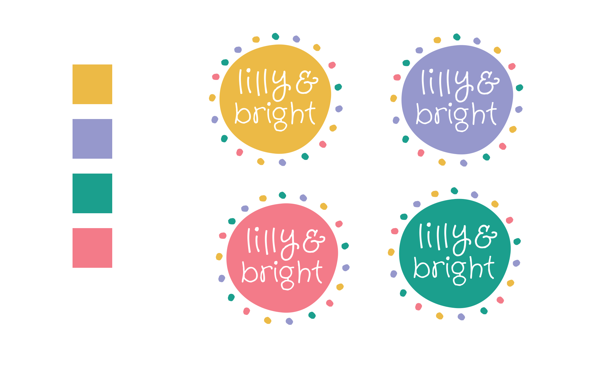 Lilly & Bright Logo Design