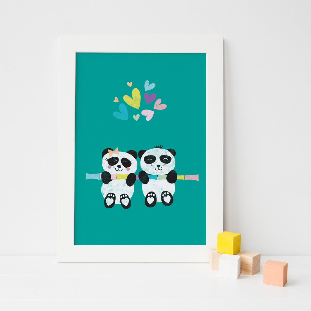 Nursery Print for Twins