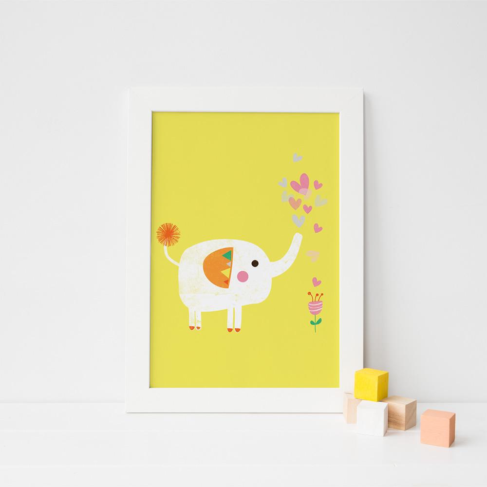 Elephant & Flower